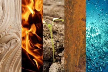 La rueda de los cinco elementos